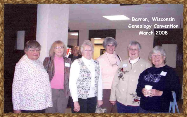 Barron, WI genealogy conference